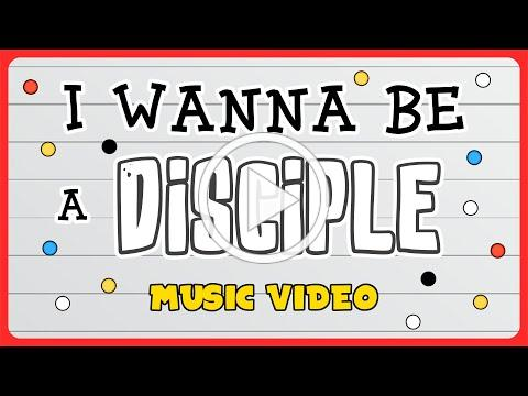 I Wanna Be a Disciple Official Music Video - Virtual Sunday School Kids Worship