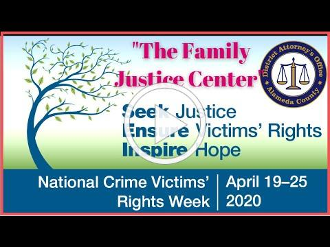 Victims' Rights Week | The Family Justice Center