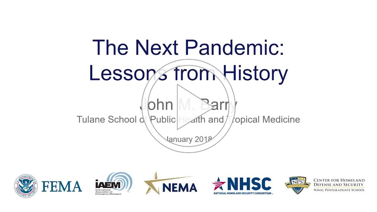 The Next Pandemic: Lessons from History