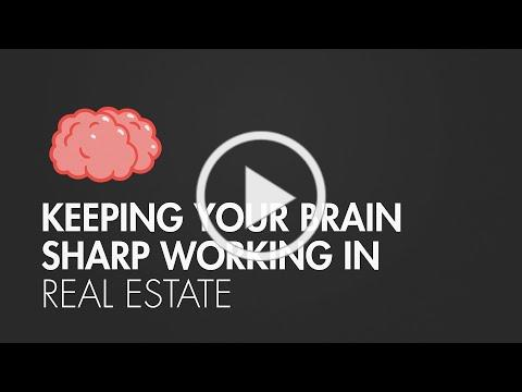 6 Ways to Keep Your Brain Sharp Working in Real Estate | The CE Shop