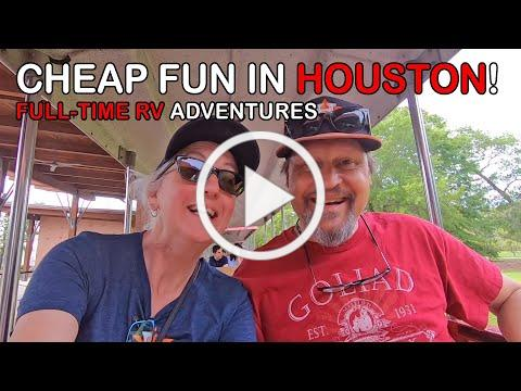 A Full Day of Houston Fun for Under $10! | RV Texas Y'all
