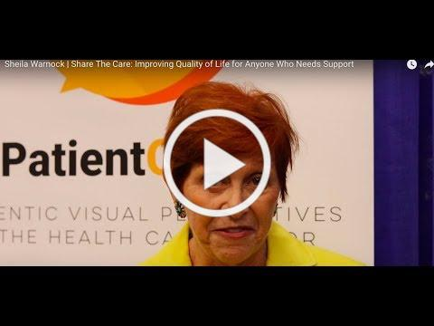 Sheila Warnock | Share The Care: Improving Quality of Life for Anyone Who Needs Support