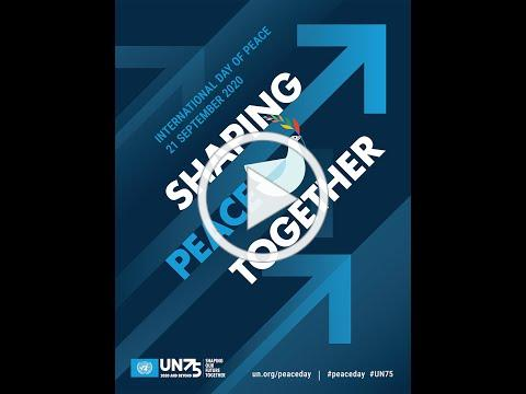 International Day of Peace 2020 song   UN75 Theme song   Shaping Peace Together