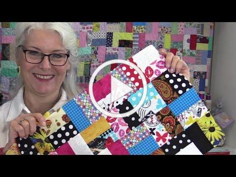 How to Make A True Scrappy Quilt
