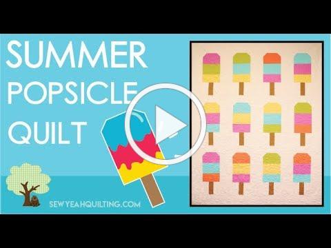 Summer Popsicle Quilt Tutorial