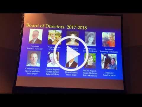 ACVSMR 2018 Membership Meeting