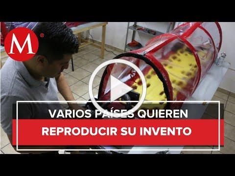 Mexicano crea cápsula para el traslado de pacientes con Covid-19