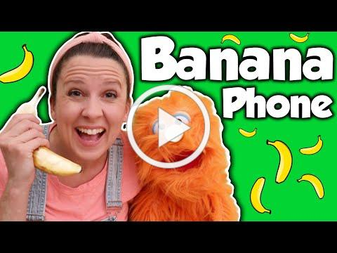 Banana Phone By Raffi and More Toddler Songs