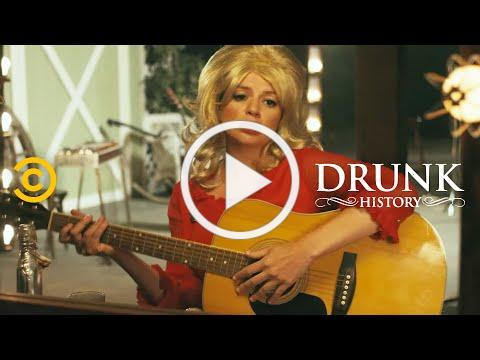 """The Story Behind Dolly Parton's """"I Will Always Love You"""" - Drunk History"""