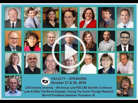 2018 LDA / Columbia Lyme & TBD Conference