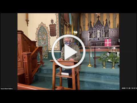 Grace Episcopal Church, Galena IL, Advent 1 2020