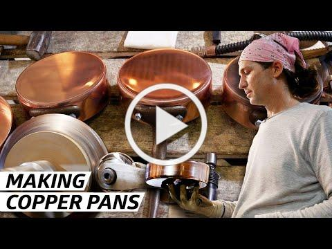 How a Former Rocket Scientist Makes the Best Copper Pots in America - Handmade