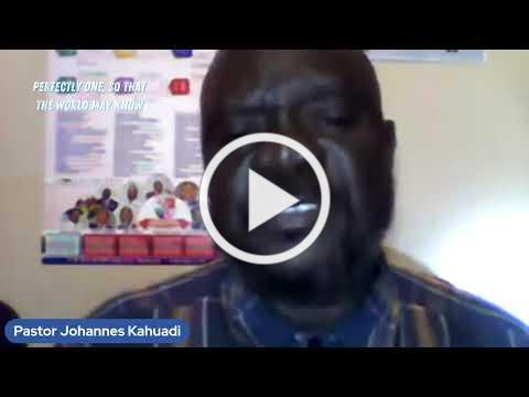 A Ministry Moment with Pastor Johannes Kahuadi