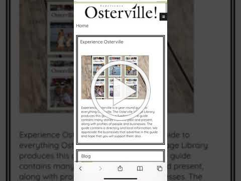 Experience Osterville Guide Sneak Peek