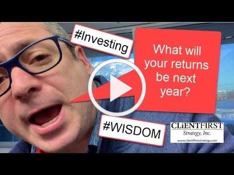 What should you expect your returns to be???