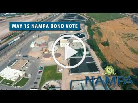 Nampa Sewer Revenue Bond - Vote May 15
