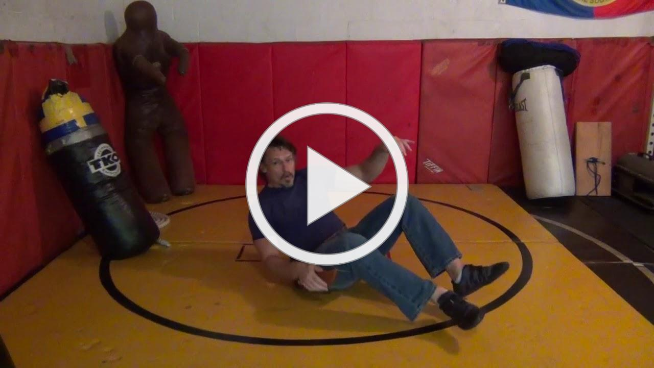 Mark Hatmaker Demos The Kick Draw for Weapons