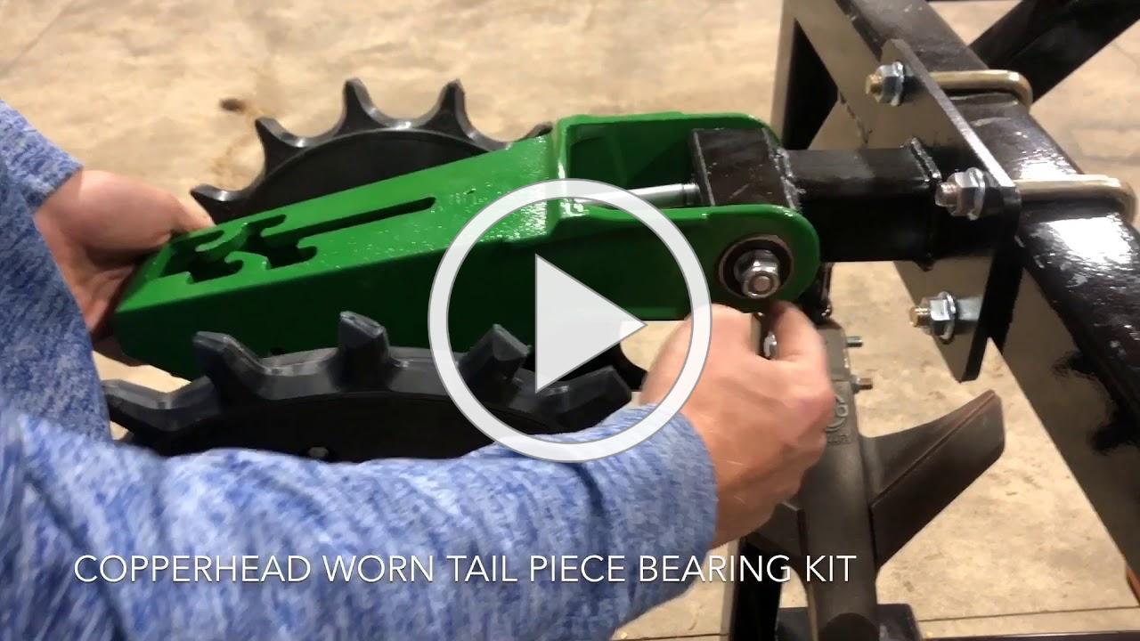 Copperhead Worn Tail Piece Repair Kit
