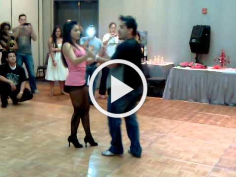 Zeke Ruvalcaba and Kathy Reyes workshop at LA Bachata Festival 2011