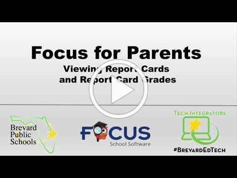 Focus for Parents: How to view Report Cards and Report Card Grades