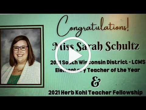 St John's teacher Sarah Schultz wins Herb Kohl Award