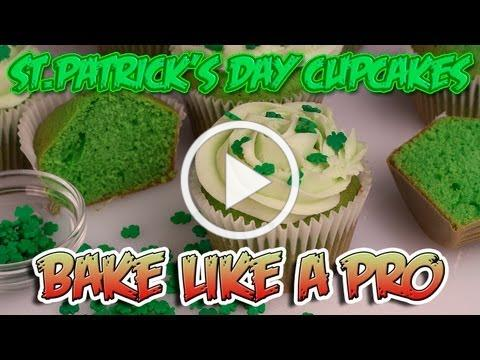 Easy St.Patrick's Day Cupcakes Recipe