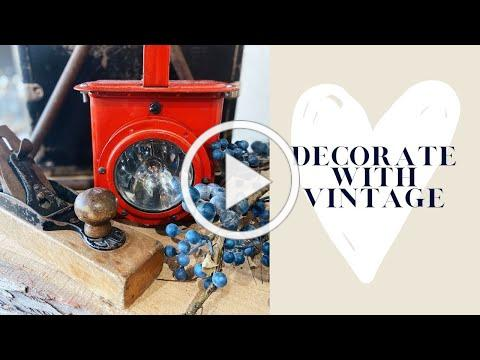 Decorate with Vintage Finds