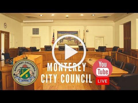 Monterey City Council // April 21, 2020 Regular Meeting