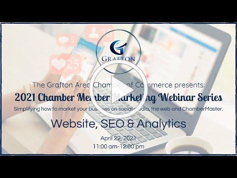 2021 GACC Chamber Member Marketing Webinar Series Part Three: Website, SEO and Analytics