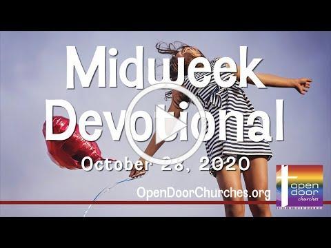 Open Door Churches Midweek Devotional by Pastor Kalina - 10-28-20