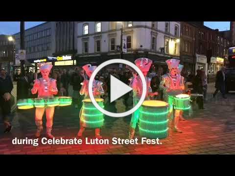 Celebrate Luton Street Fest finale - worldbeaters