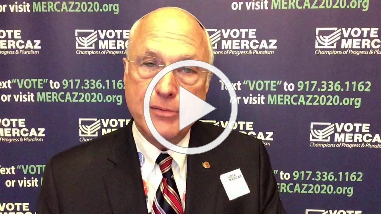 Ned shares a personal story about why he's voting for Mercaz