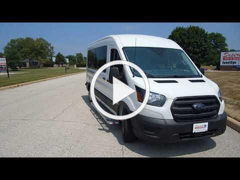 Demo - Ford Transit ADA Handicap Wheelchair Van with SmartFloor Technology