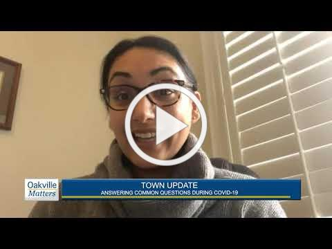 Oakville Matters - Town Update, April 28, 2020