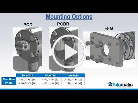 Tolomatic Webinar: IMA-S Hygienic Stainless Steel Servo Actuators - Product Launch