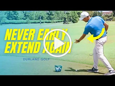 GOLF TIP | How To Never Early Extend Again