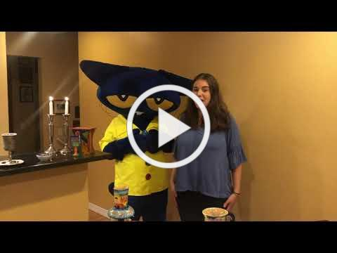 Pete the Cat Learns about Shabbat