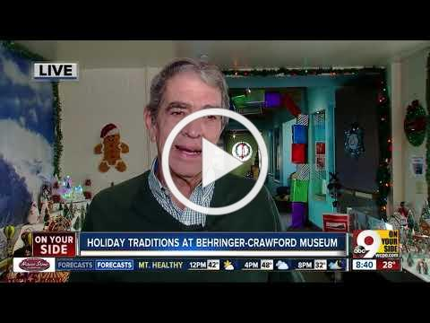 Holiday trains return to Behringer-Crawford Museum