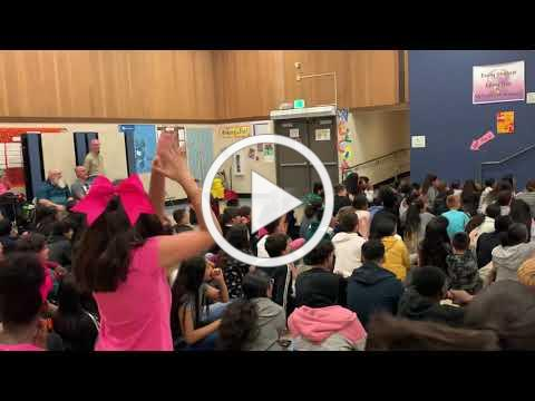 Victory Teachers Surprise Students with a Performance