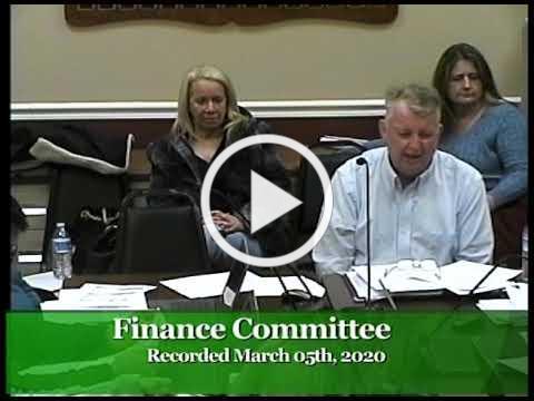 2020-03-05 WB Finance Committee Mtg.