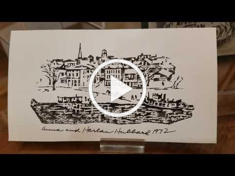 Curator's Chat with Jason French: Harlan Hubbard Holiday Cards