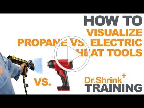 Electric vs Propane Heat Tools