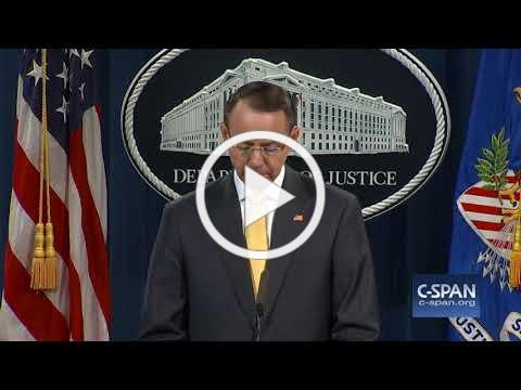 Word for Word: 13 Russians charged with interfering in 2016 presidential election (C-SPAN)