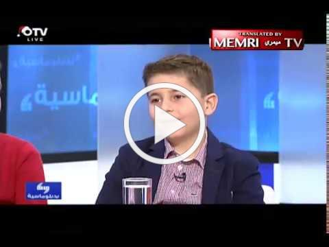 Lebanese Chess Prodigy on Refusing to Play against Israeli Opponents: Israel Is the Enemy