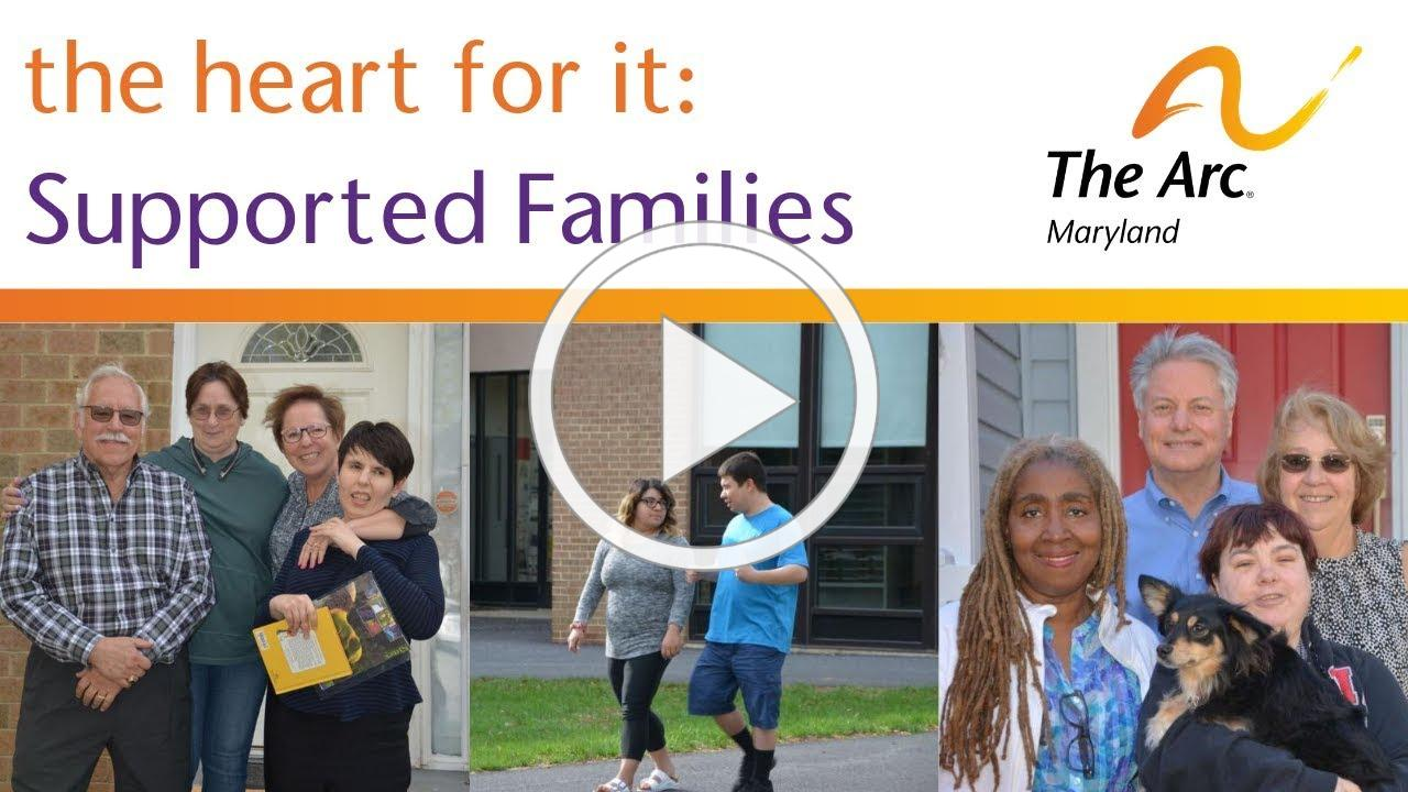the heart for it - Supported Families Short