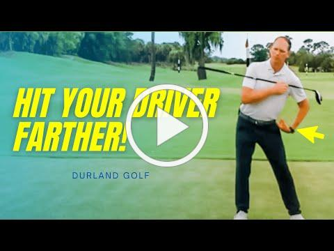 GOLF TIP   How To Hit The Driver Farther