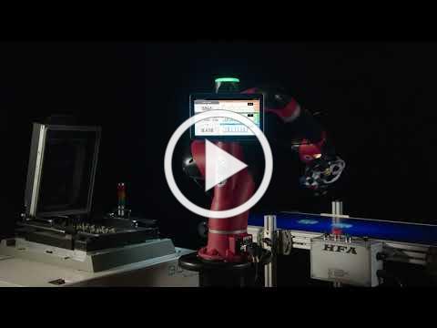 Collaborative Robot Sawyer with Intera 5.2 Software