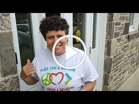 VIDEO A Virtual Walkthrough of Community Living Huntsville's Artists for Inclusion Items!