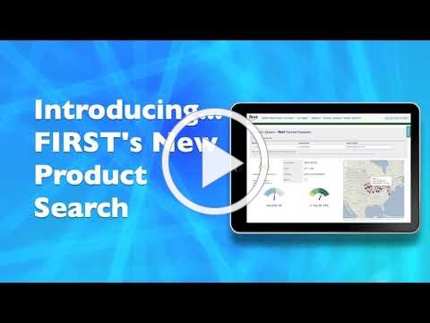 FIRST Product Search Introduction