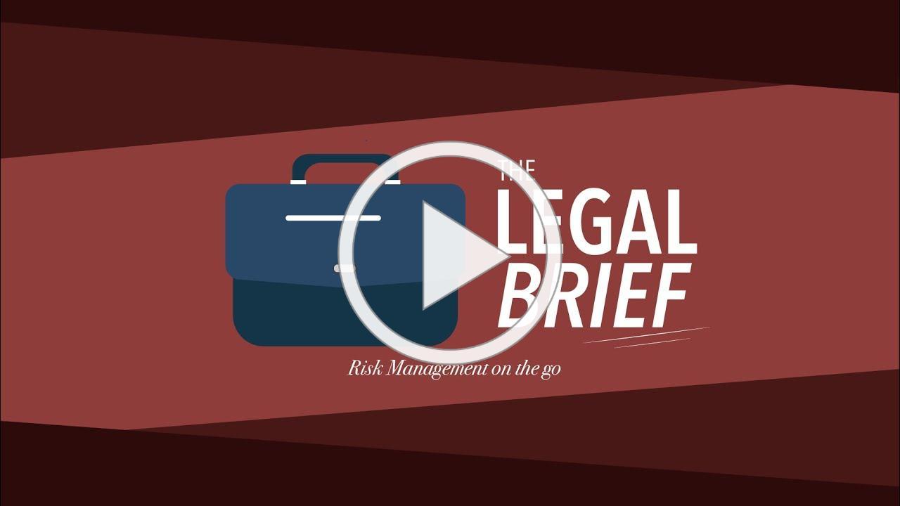 Legal Brief - Buyer Advisory